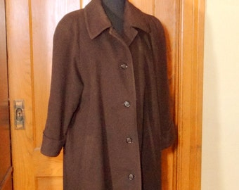 4e367eec67d24 Vintage Albert Nipon Cashmere and Wool Coat