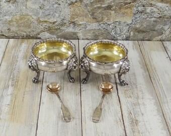 salt cellar & spoon sets