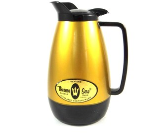 Mid Century Thermo-Serv Insulated Coffee Carafe