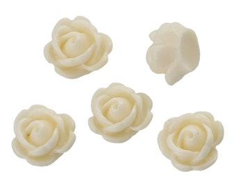 Lime Green Mums Resin Flower Cabochons, 10mm, 20 Pieces, B149,  3D Cameo, Cabs, Cameo Cabochon