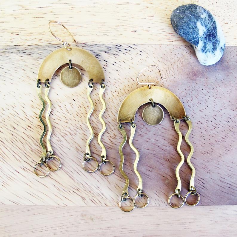 Life Squiggles Earrings image 0