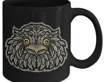 Tawny Frogmouth Nocturnal Bird Coffee Mug a9a32d779