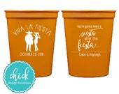 Viva La Fiesta Need a Siesta - 16 oz Cup Wedding Favors Fun Wedding Party Gifts Wedding Anniversary Party Gift Custom Beverage D151