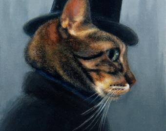 Mr. Hyde by Nancy Cuevas 8x10 Print