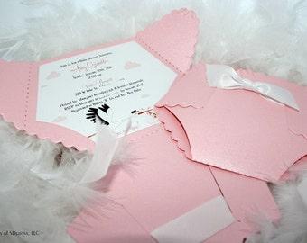 Diaper shower invite etsy stork diaper baby shower invitation stork invitation stork baby shower diaper invitation pink diaper invite baby shower invite filmwisefo