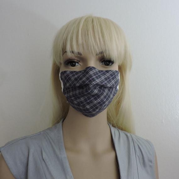 Breathable Cotton Face Mask/ Reusable Mask / Dust Mask Cover / Washable Face Mask / Adult Mask / Kid Mask/