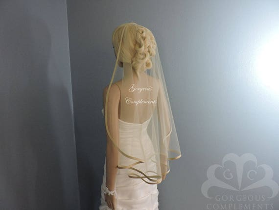 Bias SILK Trim Edge Sweetness Bridal Veil