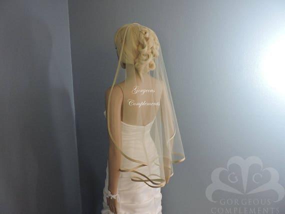 Bias SILK Trim Edge Sweetness Bridal Veil