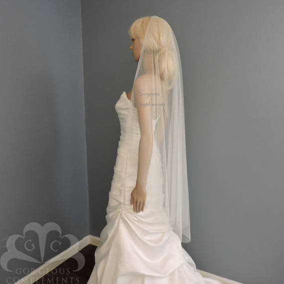 Lulu-English Tulle Wedding Veil Bridal Veil