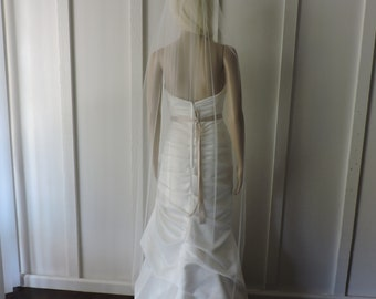 Waltz Sheer Wedding Veil Bridal Veil Illusion Soft Tulle