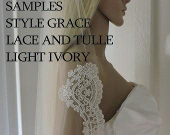 Samples Light Ivory for GRACE Style Veil
