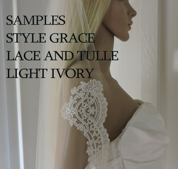 Samples Light Ivory for GRACE Style Veil