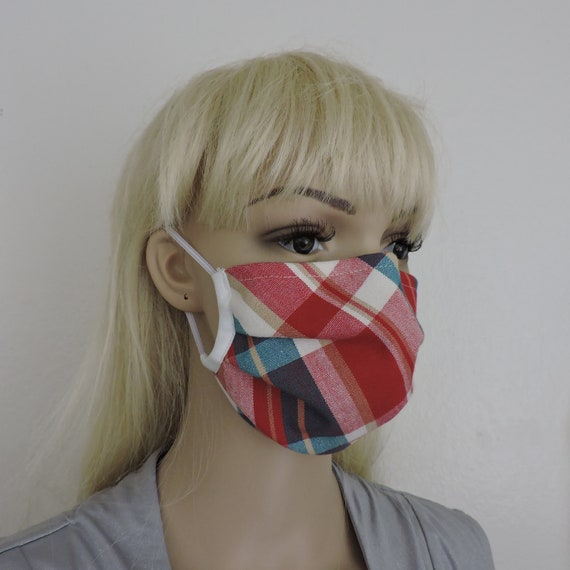 Breathable Cotton Face Mask/ Reusable Mask / Dust Mask Cover / Washable Face Mask / Adult Mask / Kid Mask/