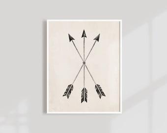Arrows Art Print, 11x14