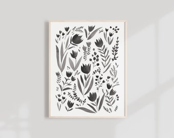 Flora Art Print - 8X10, 11X14