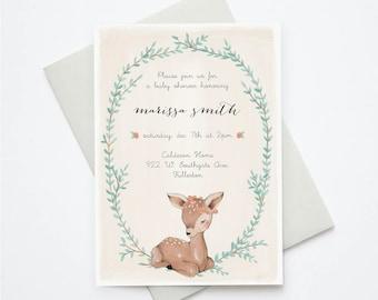 Little Deer Invitation