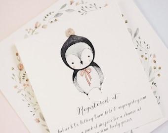 Baby Owl - Baby Shower Invitation