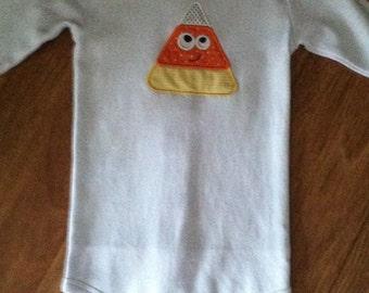 Long Sleeve Toddler's appliqued onesie