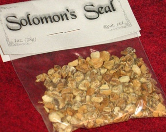 Solomon's Seal Root~Cut~Protection~Cleansing~Consecration