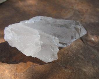 2-3 Inch Brazilian Quartz Crystals~Supply~Mediation Tool~Specimen~Stone~#1