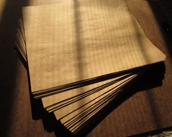 One Pound Brown Craft Paper~Over 100 sheets~Thin~Spell Writing~Scrapbooking~Art~Supply