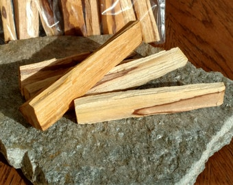 Palo Santo Sticks~Up To 4 Inches Long~Holy Wood~Cleansing Sacred Space~Clearing Harmful Energy~Healing Rituals
