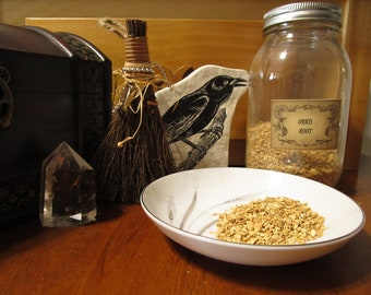 Orris Root~Iris Flower Root~Associated With Water and Venus~Protection~Herb Magic