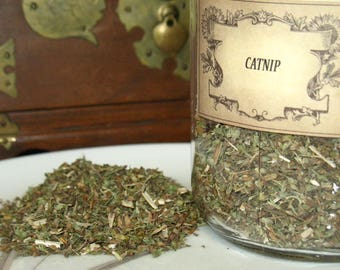 Catnip Herb~Feminine Energy~Planet Venus~Associated with Water~One ounce dry weight-not volume