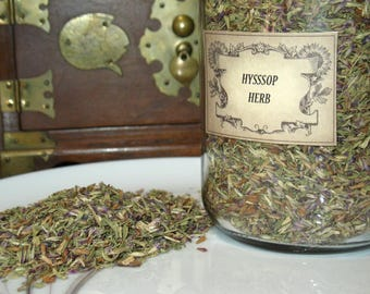 Hyssop Herb~Healing and Protection~Planet Jupiter~Element of Fire