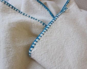 Primitive antique blanket, handwoven wool blanket, prim bedcover, unusual countr cover, hand loomed