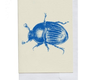 Blue Beetle Card