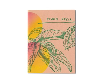 Last Copy! 1st Edition Peach Spell Book