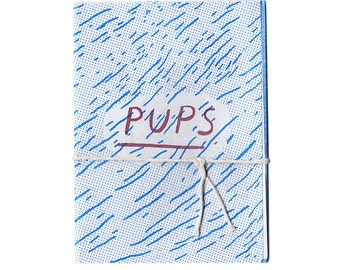 Only one available!!! PUPS mini zine
