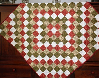 Holiday Scrappy Quilt