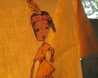 vintage Indian Maiden Shirt