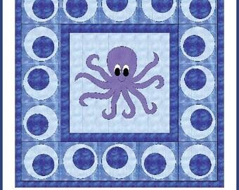 Octopus Lovin pattern CLS120