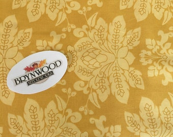 Lila Tueller Santorini Fabric, Moda Santorini Fabric, yellow Gold Quilting Cotton, Lila Tueller Fabric