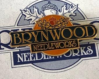Ltd. Ed. Exclusively Brynwood Needle Minder, Brynwood Logo Needle Minder, Needle Minder, Needle Keep