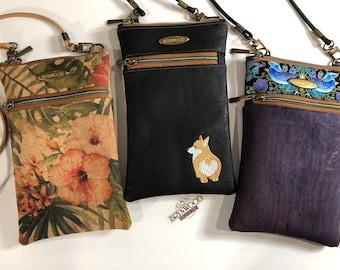 Brynwood SHOP HOP Crossbody Bags, Minimalist Crossbody Bag, Cell Phone Crossbody Bag, Small Zippered Crossbody Bag