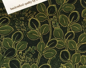 Fabric Innovations (D 4361) Kimono Collection Leaf Print Fabric, Leaf Print Fabric, Oriental Leaf Fabric, Oriental Fabric