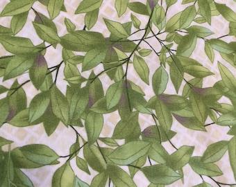 SALE Once Upon A Garden Fabric from In The Beginning Fabrics, Lynnea Wasnburn Fabric, 4 yard cut