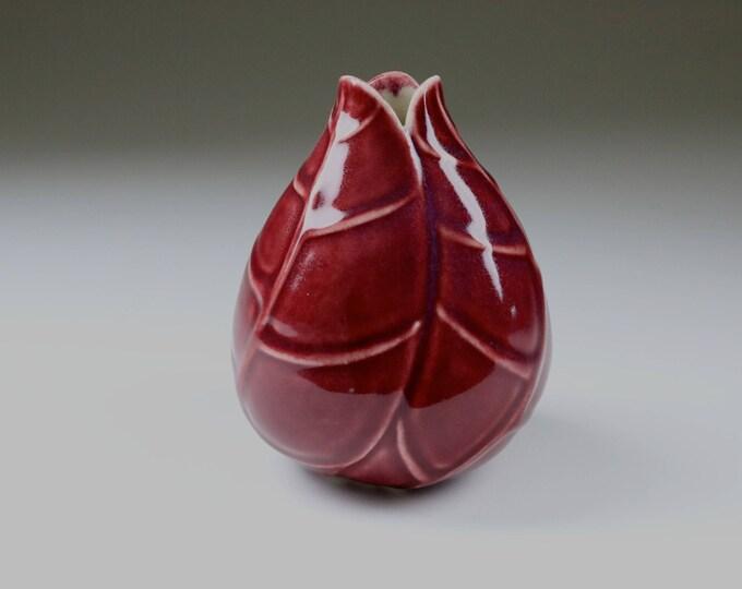 Red Porcelain Ephemeral Pod