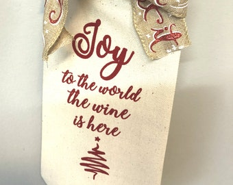 Holiday Wine Bag, Christmas Wine Bag, Wine Tote, Funny Wine Bags, Gifts For Wine Lovers, Wine Gifts, Wine Gift Bag, Wine Quotes, Holiday
