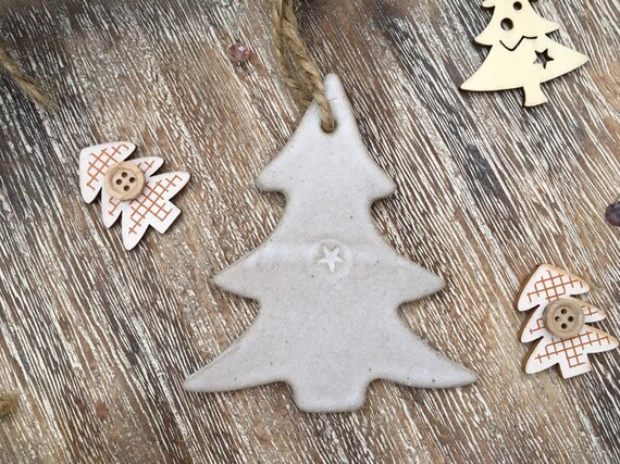 Ceramic Christmas Tree Decorations.Christmas Decoration Ceramic Christmas Tree Decoration Ceramic Hanger Handmade Garden Hanger Gift Idea