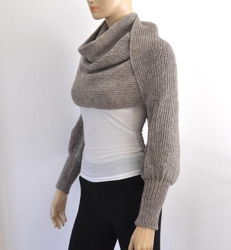 9dfb71f2785e Brown Chunky Knit Womens Sweater Cardigan Wrap Sweater Bridal