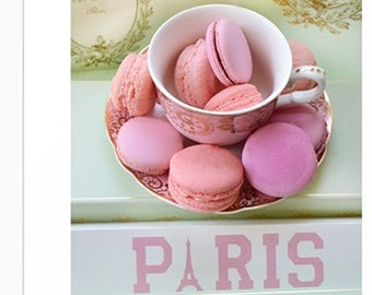 Paris Laduree Macarons Kitchen Art Print, Paris Macarons, Paris Kitchen Food Wall Art Print, Paris Laduree Macarons, Paris Food Photography