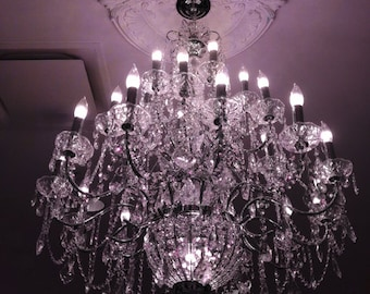 Chandelier photography sparkling crystal chandelier print chandelier photography dreamy sparkling purple crystal chandelier paris chandelier baby girl room decor purple chandelier chandelier art aloadofball Gallery