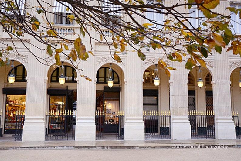 Paris Photography Jardin Du Palais Royal Autumn In Paris Etsy