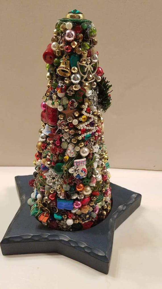 Christmas Topiary.Topiary Christmas Jewelry Tree