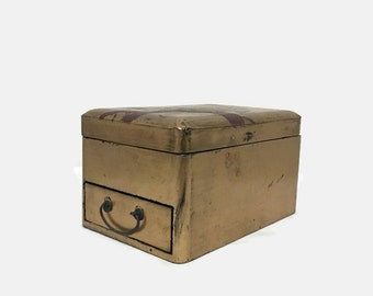 Vantine's Jewelry Box - Hand Painted - Japan - 1920s